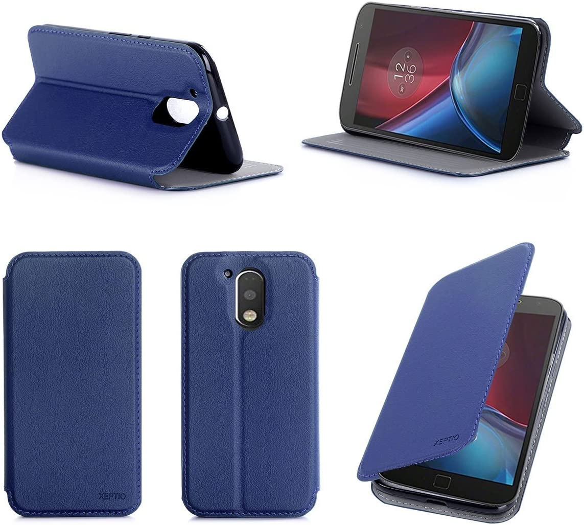 Lenovo Moto G4 PLUS 2016 4G Dual Sima Ultra Slim Funda Azul ...