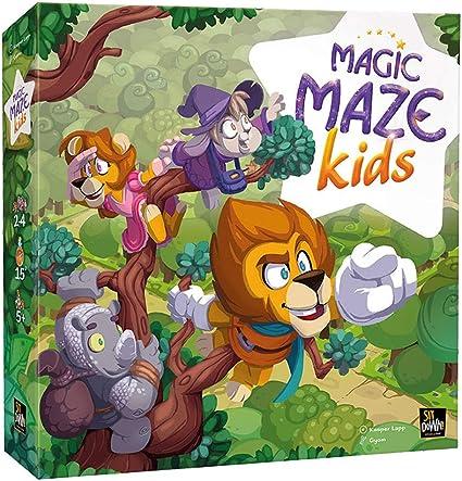 Dude Games DGMMK01 Magic Maze Kids Toys SDGSIT009G