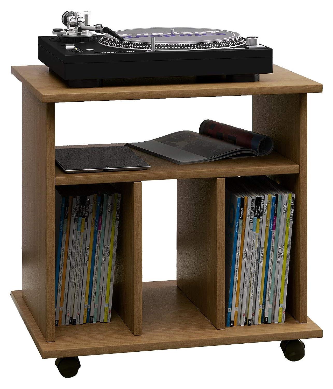 Mueble tocadiscos y soporte para Discoshttps://amzn.to/2QJEqTK