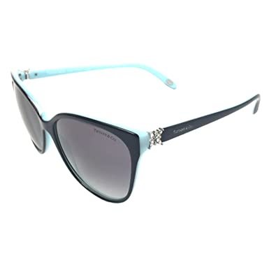 ce5ee4f58cb Amazon.com  Tiffany   Co. Womens TF4089B 8055 3C Black Grey Gradient ...