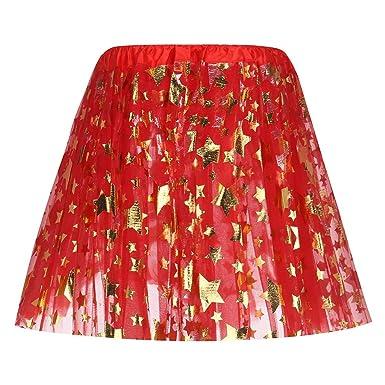 Mini falda corta de itisme, tutú irregular, tul para mujer, niña ...