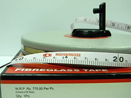 FREEMANS - FIBREGLASS - MEASURING TAPE - 50 METERS X 13 MM