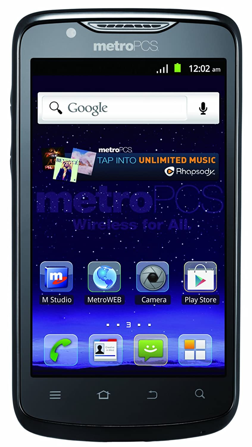 com zte anthem g lte prepaid android phone metropcs com zte anthem 4g lte prepaid android phone metropcs cell phones accessories