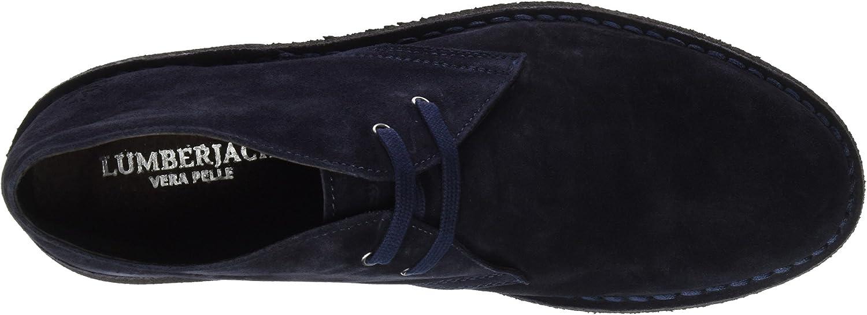 lumberjack Herren Beat Desert Boots, Marineblau Blu Navy Blue 0Smrj