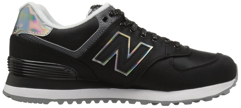 New Balance Women's WL574V1 Fashion US|Black/Gunmetal Sneaker B01GRMFWHU 5 B(M) US|Black/Gunmetal Fashion 88a7db