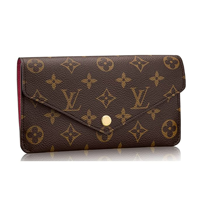Amazon.com: Louis VUITTON Monogram lona Jeanne cartera ...