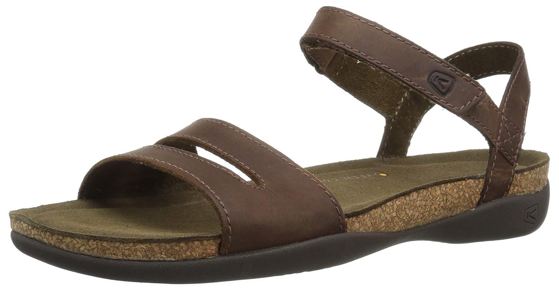 KEEN Women's Ana Cortez W Sandal B071RCS9QB 7 B(M) US|Brisk/Espresso