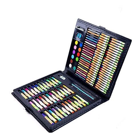 Acuarela Rotulador Juego de arte de 160 piezas de medios ...