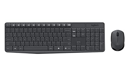 1f0f8229d94 Amazon.com: Logitech MK235 Wireless Keyboard and Mouse: Computers ...