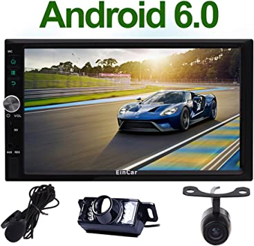 Amazon.com: Radio de coche Quad Core Android 6.0 7.0 ...