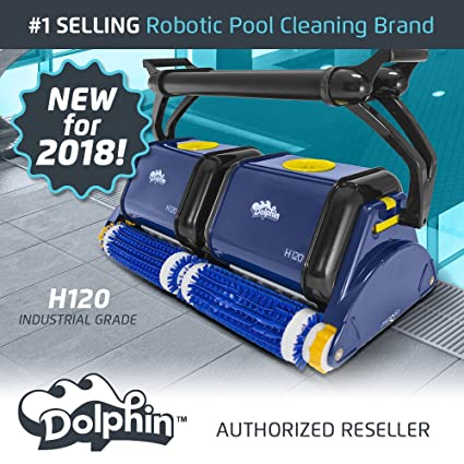Amazon.com: Delfín H120 grado Industrial robot limpiador de ...