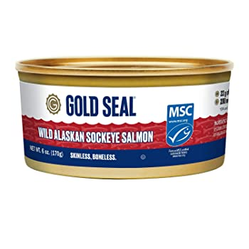 Gold Seal Wild Alaskan Sockeye Canned Salmon