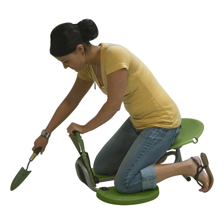 Vertex Easy-Up Kneeler Gardening Seat for Pruning/Weeding of Garden