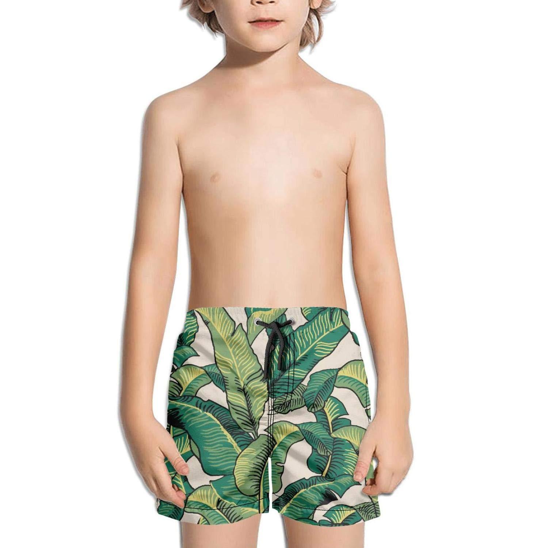 LKIMNJ Boys Swim Trunks Pineapple Llips Cocktail Watermelon Banana Quick Dry Comfortable Beach Board Shorts