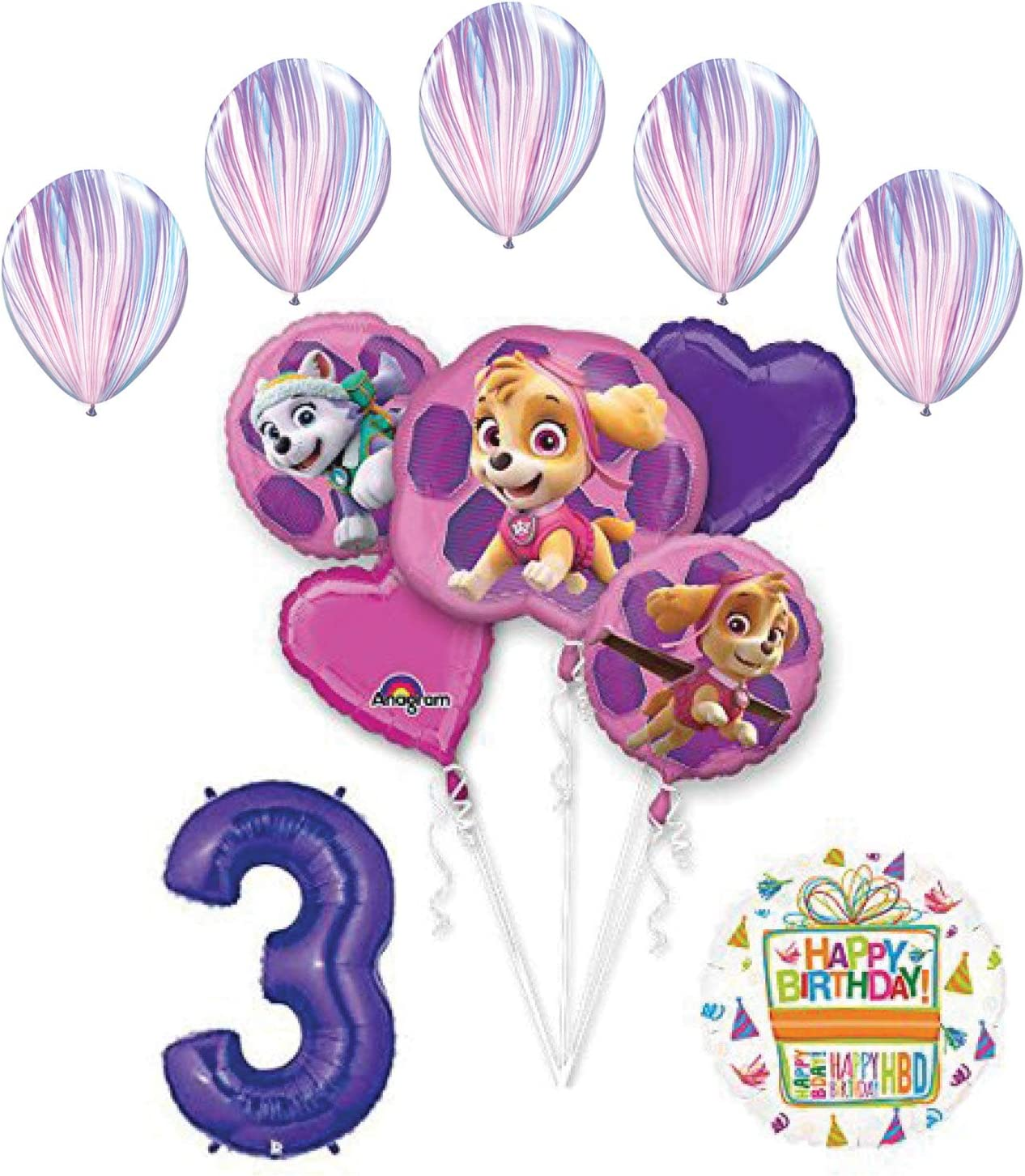 Amazon.com: Skye and Everest - Ramo de globos y accesorios ...