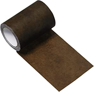 Gift2U Leather Repair Tape, 3.2 x 180 Inch Brown Leather Adhesive Self-Adhesive for Sofas, Couch, Handbags, Jackets