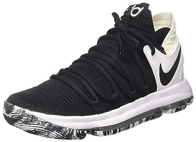 super popular a957c 5e265 Nike Herren Zoom KDX Schwarz TextilSynthetik Basketballschuhe 44,5