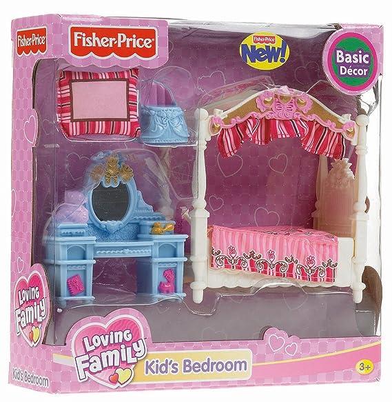 Amazon.com: Fisher-Price Loving Family Kids Bedroom: Toys & Games