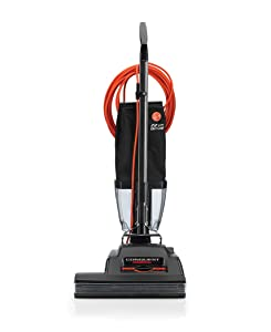 """Hoover Commercial C1810-010 Conquest Bagless Upright Vacuum 18"""""""