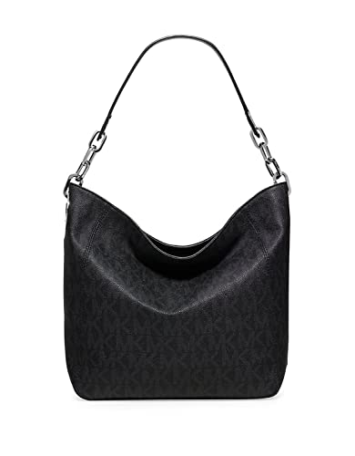 9f9a140954d9 Michael Kors Fulton Slouch Shoulder Handbag BLACK: Handbags: Amazon.com