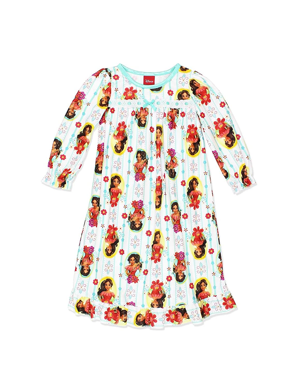 Disney Elena of Avalor Girls Flannel Granny Gown Nightgown (Toddler/Little Kid/Big Kid) manufacturer