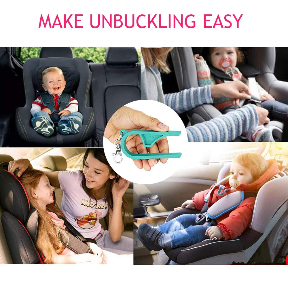 3 Pack Car Seat Unbuckler Car Seat Key Easy Buckle Release Tool Car Seat Adapters Easy Buckle Release Aid for Children and Caregivers