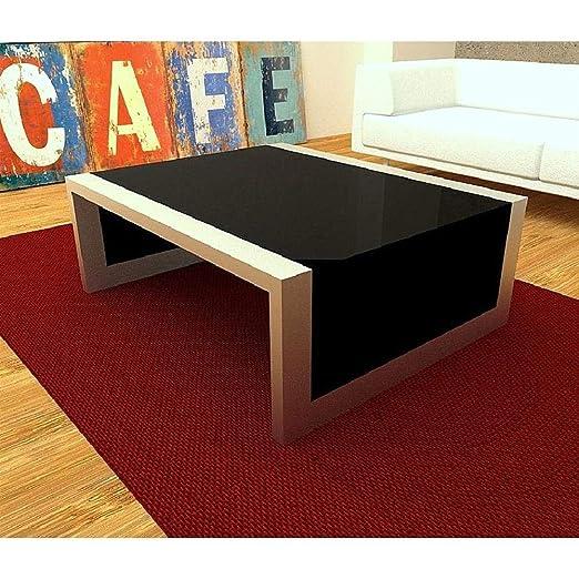 Domine Design - Mesa de Centro Salon Moderna | Cristal y ...