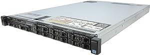 Dell R620 2 x 8 Core E5-2670 2.6GHz 128GB 16x8gb 4x146GB 15K SAS HDD 8B (Renewed)