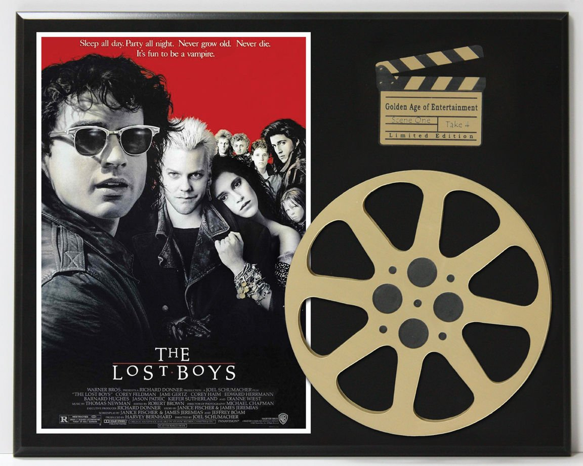 THE LOST BOYS LTD EDITION MOVIE REEL DISPLAY