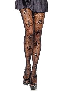 ed9777409c0 Amazon.com  Forum Novelties Women s Pirate Costume Fishnet Thigh ...