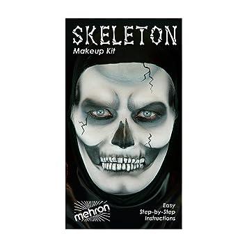 Amazon 6 Pack Mehron Character Makeup Kit Skeleton Beauty