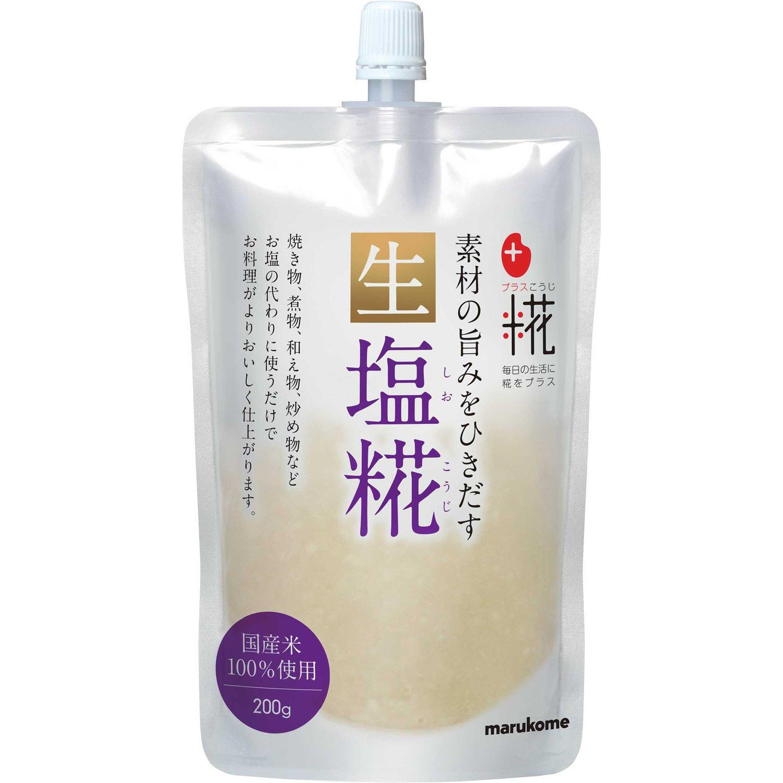 Nama Shio Koji - Rice-malt Seasoning(8 Packs) by Marukome