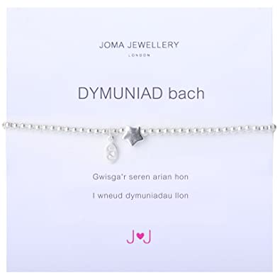 Cymraeg Welsh A Little Thank You Bracelet 7F9qCj6c