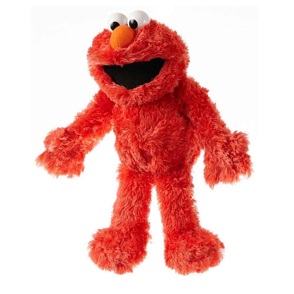 Living Puppets Handpuppe Elmo aus der Sesamstraße 36 cm [German Version]