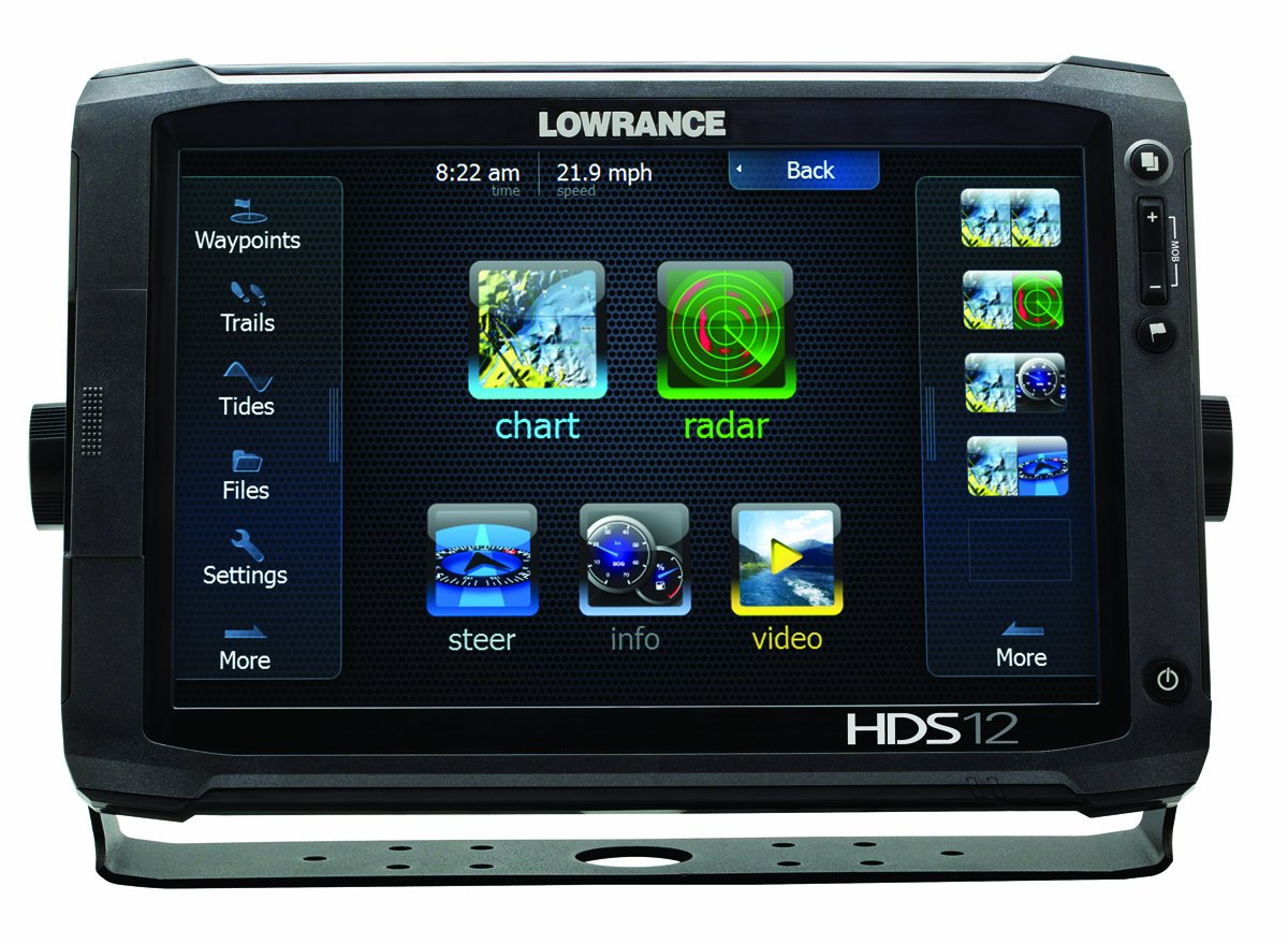 Lowrance 000 10775 001 Hds 12 Gen2 Touch With Inch Sonichub Wiring Diagram Lcd Touchscreen Multi Function Display And Plotter Built In Depth Sounder