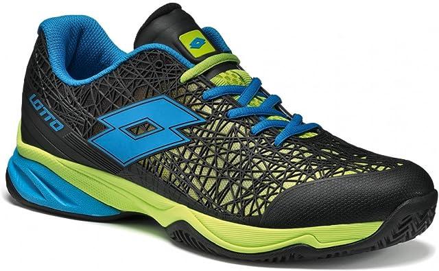 Lotto Viper Ultra II CLY, Zapatillas de Tenis Hombre, Verde / Azul ...