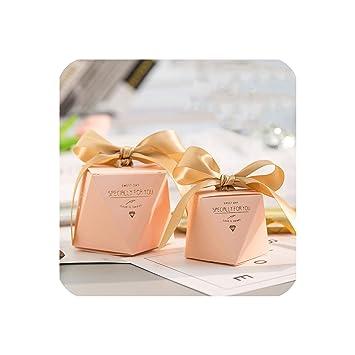 Amazon.com: Caja de caramelos de mármol con diamantes para ...