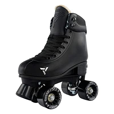 Crazy Skates Adjustable Roller Skates for Boys and Girls - Jam Pop Series - Black Small (Sizes jr12-2) : Sports & Outdoors