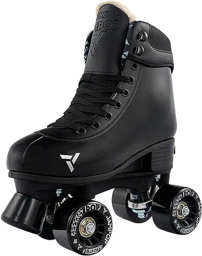 Crazy Skates Adjustable Roller Skates for Boys and Girls – Adjusts to Fit 4 Shoe Sizes – Jam Pop Series