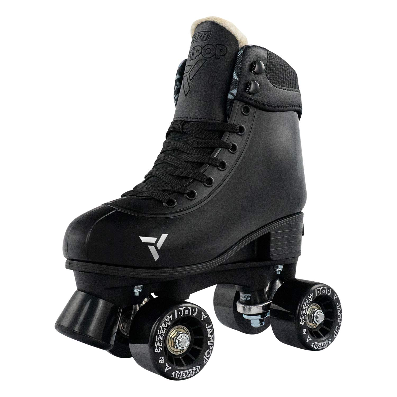 Crazy Skates Adjustable Roller Skates for Boys and Girls – Adjusts to Fit 4 Shoe Sizes – Jam Pop Series