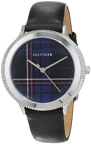 Tommy Hilfiger Reloj Análogo clásico para Mujer de Cuarzo con Correa en Cuero 1781857: Amazon.es: Relojes