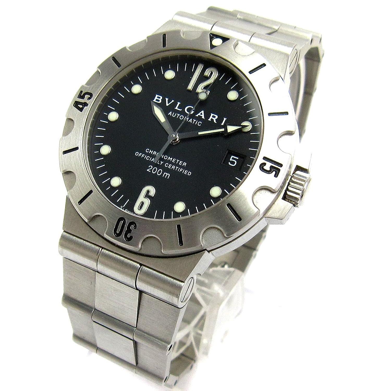 [ブルガリ]BVLGARI 腕時計 SD38S ディアゴノ スクーバ オート クリーニング済み メンズ 中古 B07D1L3HNN