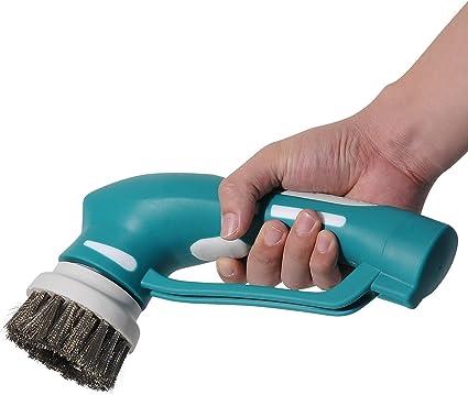Amazoncom Electric BBQ Grill Brush High Quality Handheld V - Battery powered scrub brush