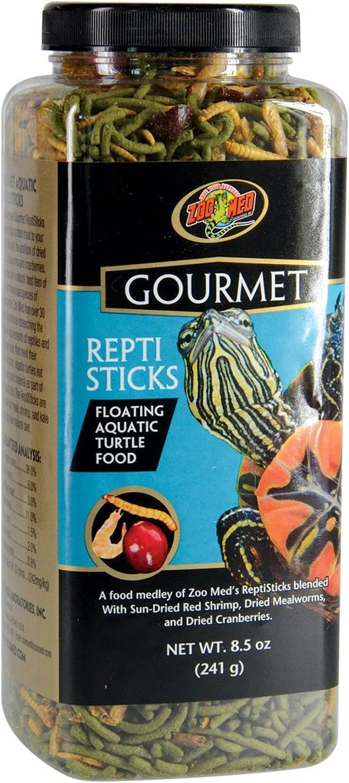 Zoo Med Gourmet Reptisticks For Aquatic Turtles, 8.5 oz