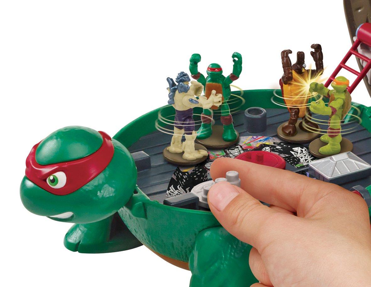 Micro de Las Tortugas Mutantes Raph de Juguete en la azotea ...