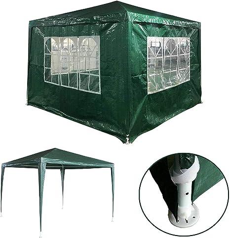 GJR-Zhengyangpeng Sombra al Aire Libre 3x3M Tienda de campaña con Dosel A Prueba de Agua Sol Refugio Gazebo Fiesta Carpa Tienda de Picnic Tienda de campaña Pérgola Toldo Toldo: Amazon.es: Deportes y
