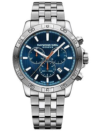 Amazon Com Raymond Weil Men S Tango 303 Quartz Watch With Stainless
