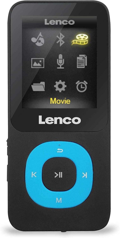 Lenco Xemio 769 Blau Lenco Mp3 4 Player Xemio 769 Mit Bluetooth Und 8 Gb Micro Sd Karte Sprachaufzeichnungsfunktion Usb E Bookfunktion Blau Blau Heimkino Tv Video