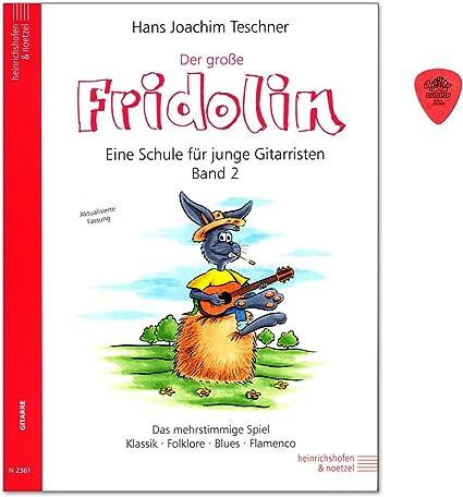 Fridolin la Gran Banda 2 – Guitarra Escuela para individual y de ...