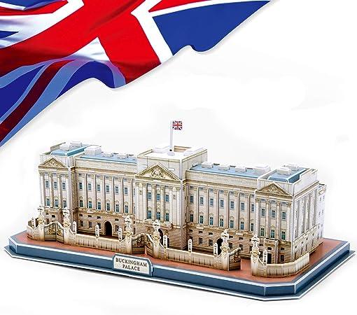 CubicFun 3D Puzzle de Buckingham Palace DIY Modelo Decoración de Regalo, 72 Piezas: Amazon.es: Juguetes y juegos